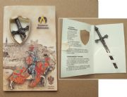 Barbarian Sword Letter Opener From Armaduras - Toledo Spain